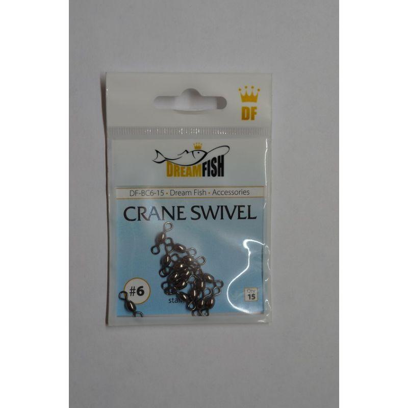 Верлюжки DreamFish Crane Swivel №8