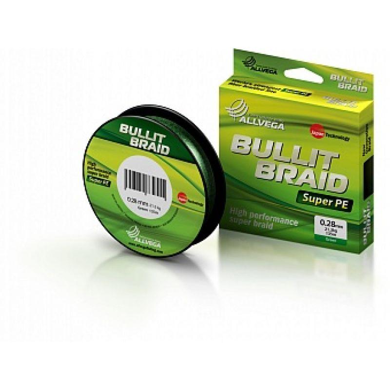 Леска плетеная Bullit Braid 135м 0,2...