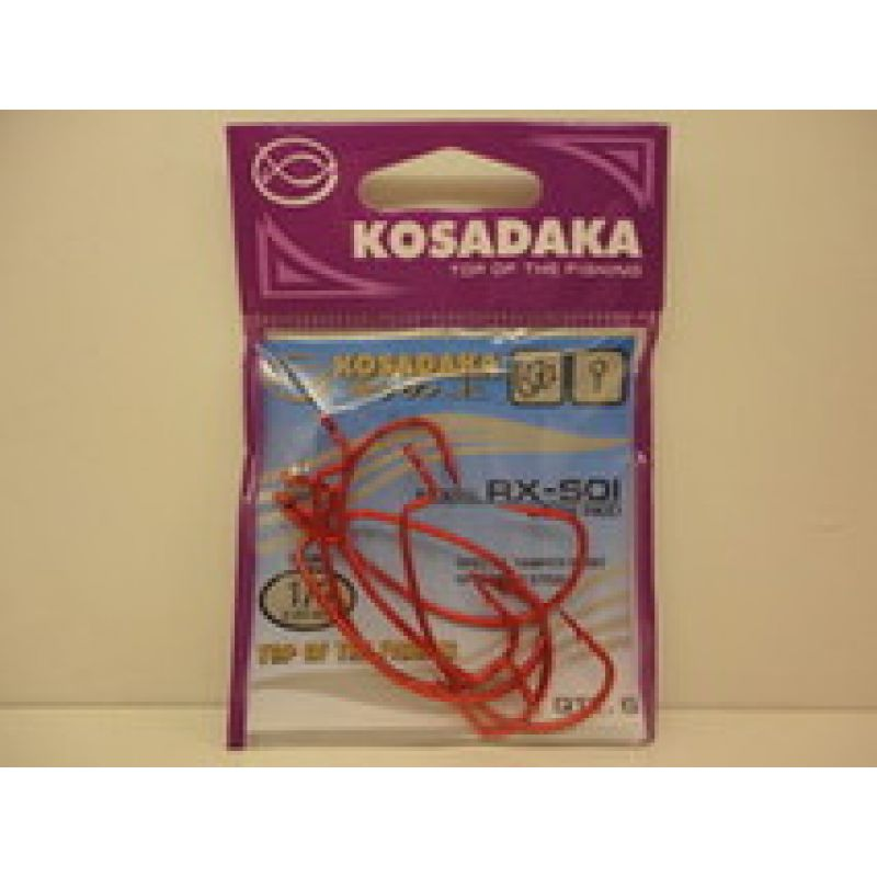Крючок Kosadaka RX-SOI 3028RED №1/0