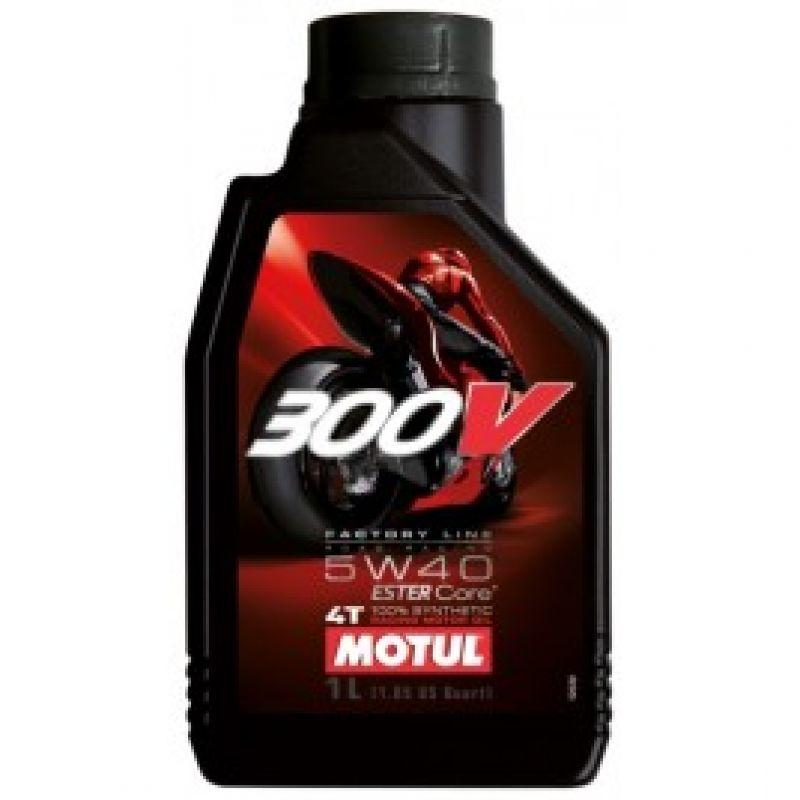 Motul 300V Factory Line 4T масло 5W40/1L/си...