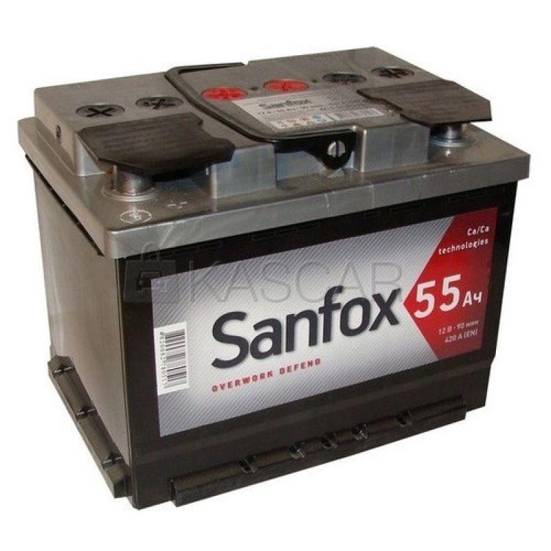 АКБ 55 SanFox п/п