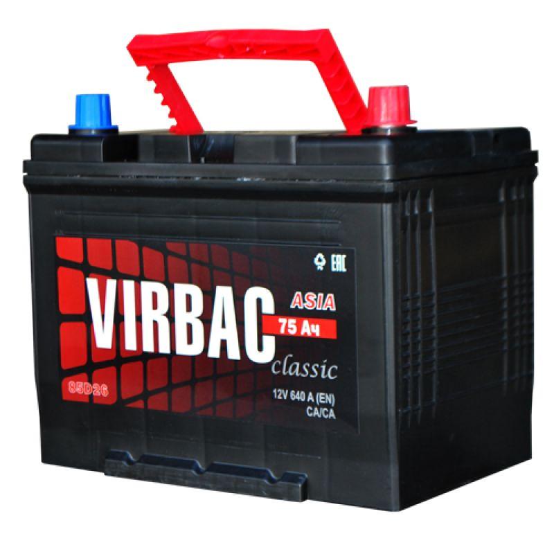 АКБ 75 VIRBAC Classic о/п