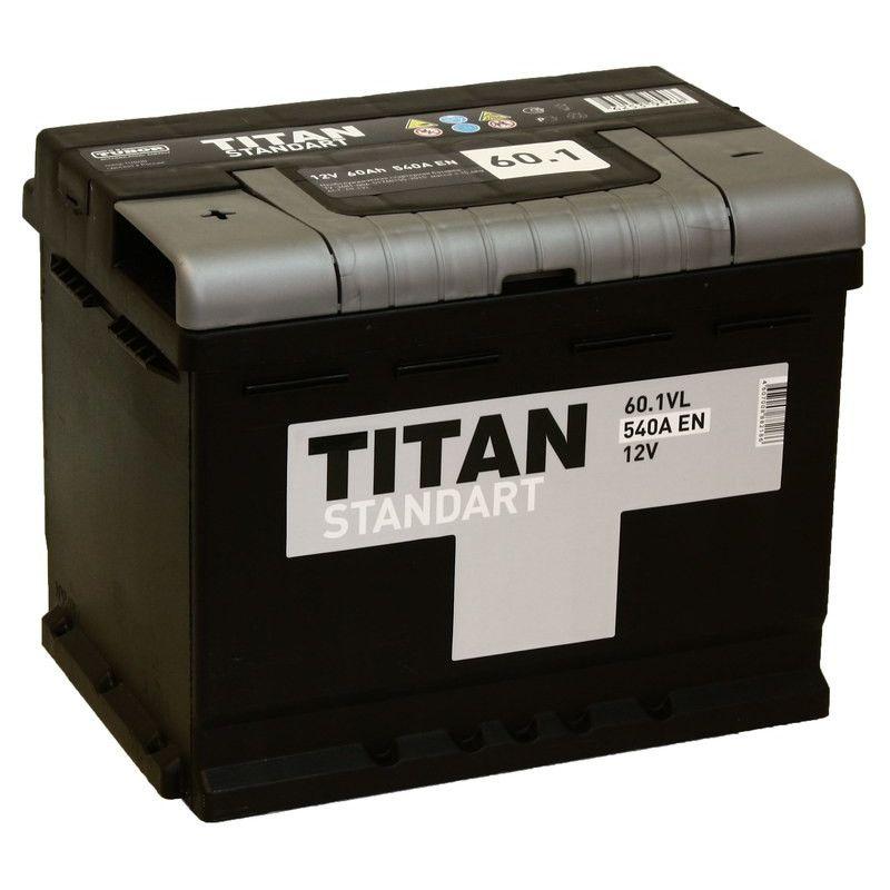 АКБ 60а/ч Титан Стандарт