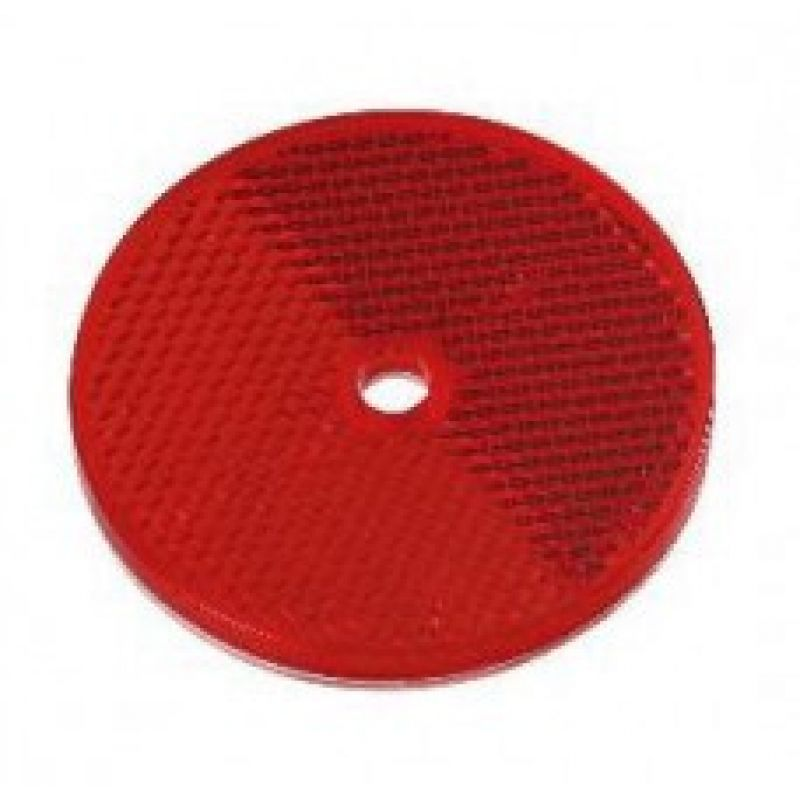 Отражатель круглый красный