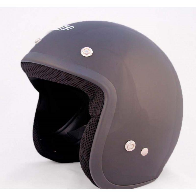 ALLTOP Шлем открытый AP-75 SOLID BLACK...