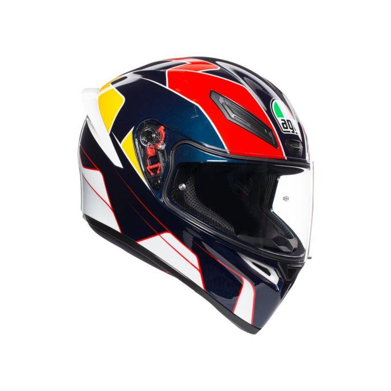 AGV Шлем K1 PITLANE BLUE/RED/YELLOW MS, код...