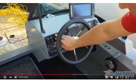 Испытание лодки Волжанка с мотором Yamaha F60