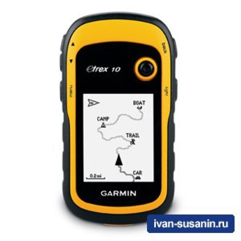 Навигатор Garmin Etrex 10 GPS, Глона...
