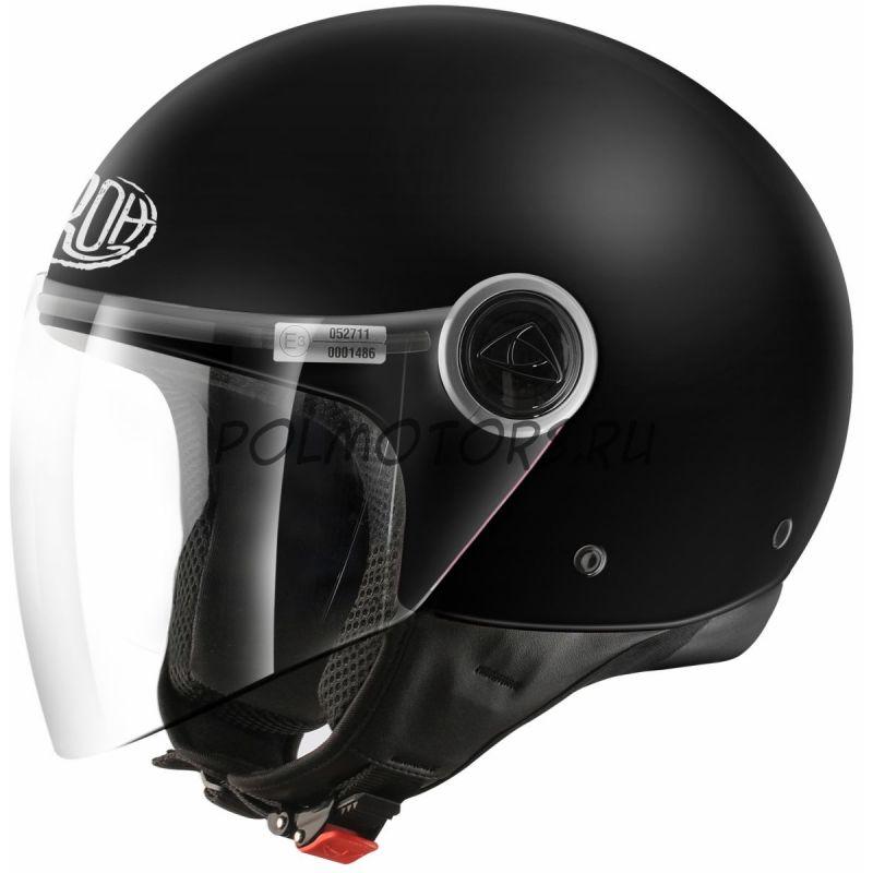 AIROH Шлем открытый MALIBU BLACK MATT ...