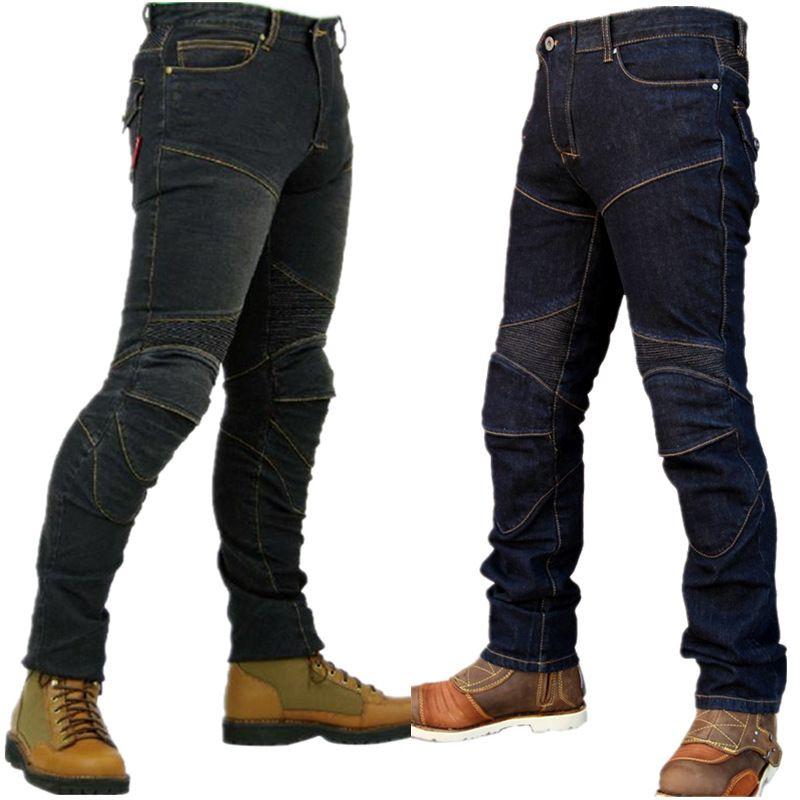 KOMINE PK-718 SuperFIT Kevlar D-Jeans мотодж...