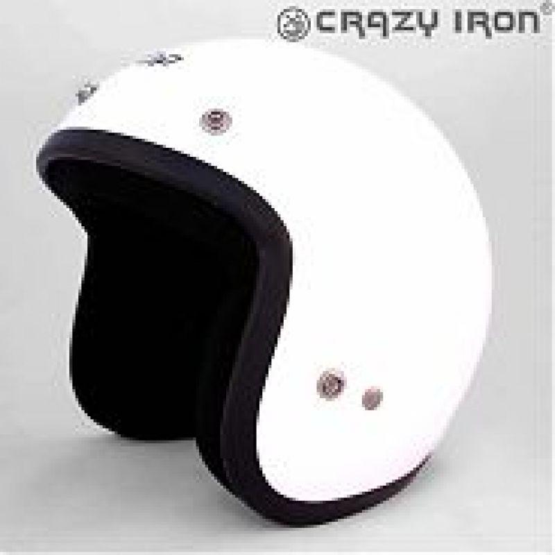 ALLTOP Шлем открытый AP-75 SOLID WHITE (S)