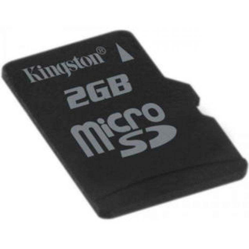 Карта памяти Kingston  micro SD 2 GB