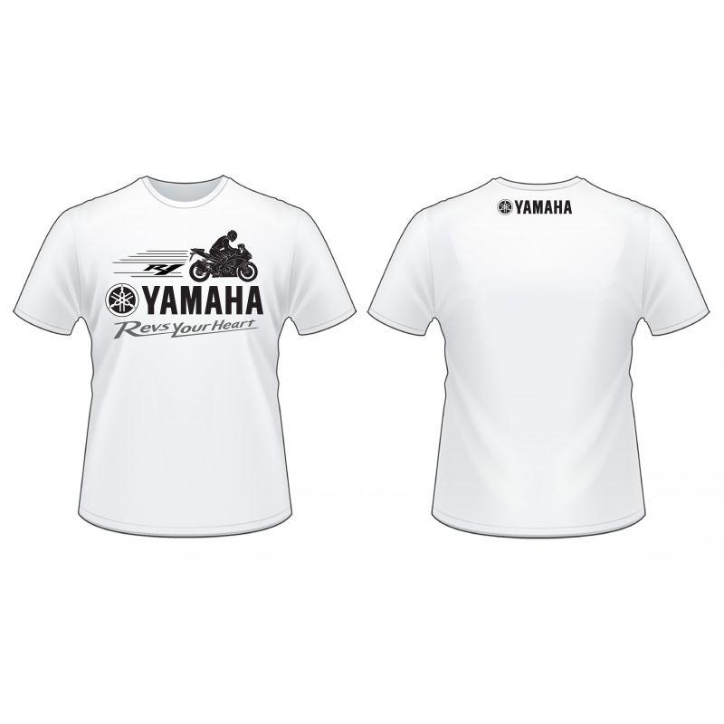 90798T14WHLG Футболка мужская Yamah...
