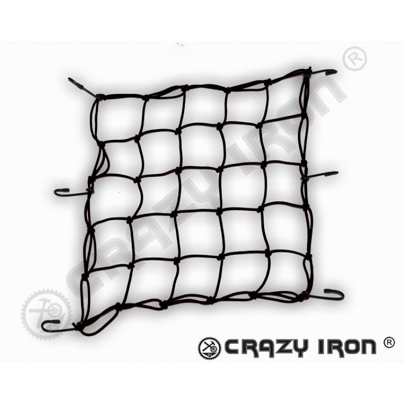 EMGO Сетка багажная, черная