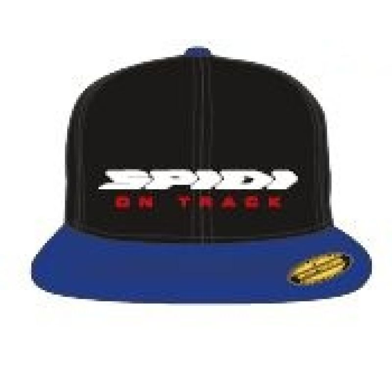 Бейсболка SPIDI FLEX CAP (Black/Blue, S/M...